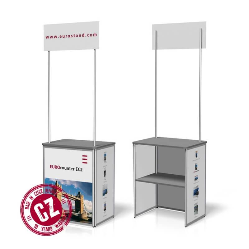Prezentační stolek EC-2 s logem